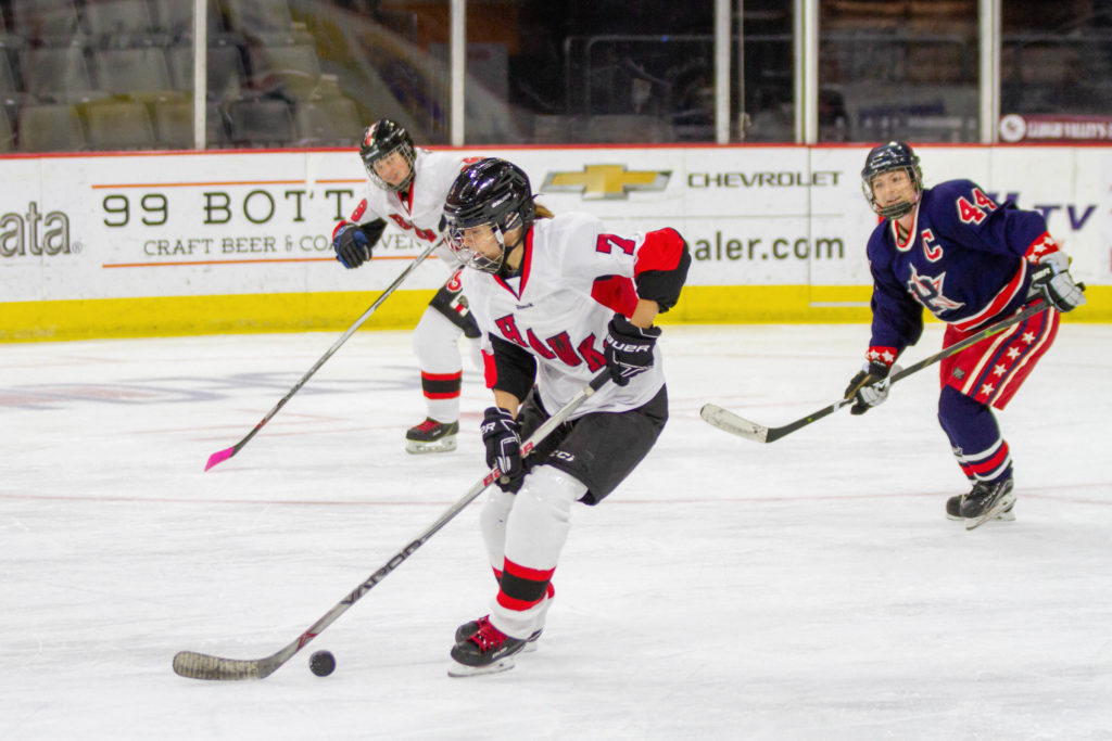 Hawks Women's Ice Hockey